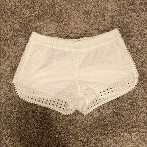 Lily Pulitzer white shorts